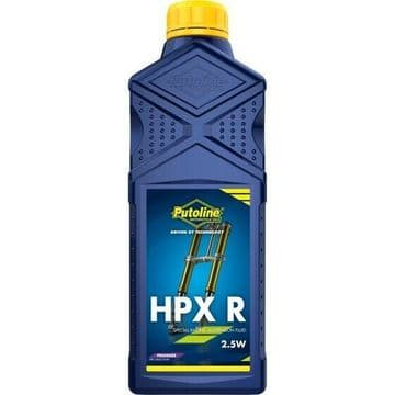 Putoline HPX R 2.5W Premier Synthetic Motorcycle Motorbike MX Fork Oil - 1L
